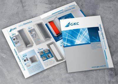 Folder e produção fotográfica para GKC