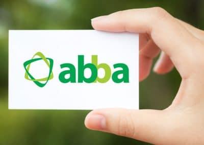 Logotipo para abba