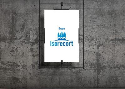 Logotipo para Grupo Isorecort
