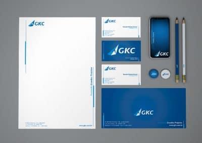 Papelaria institucional para GKC